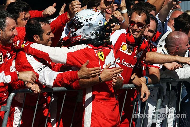 "Arrivabene: Vettel ajudou na ""estabilidade"" na Ferrari"