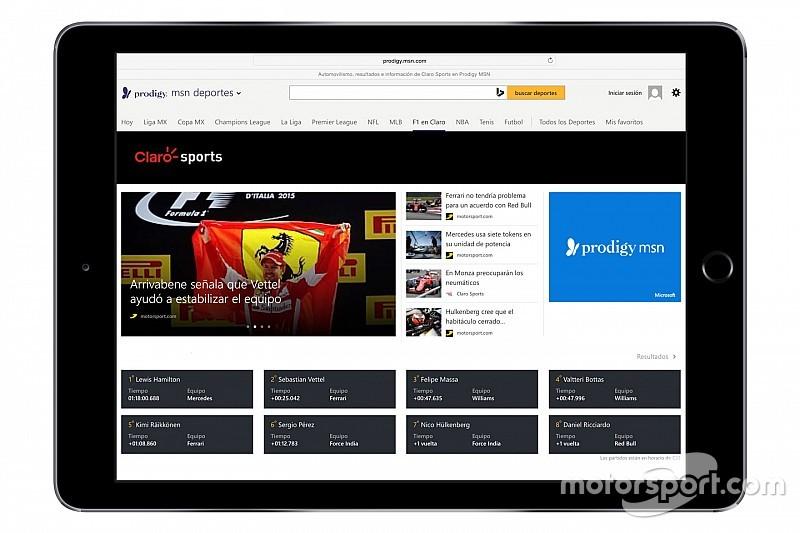Motorsport.com и Prodigy/MSN объявили о партнерстве в Латинской Америке