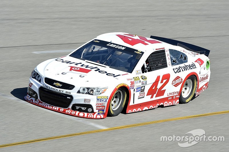 Larson tops first Sprint Cup practice at Richmond