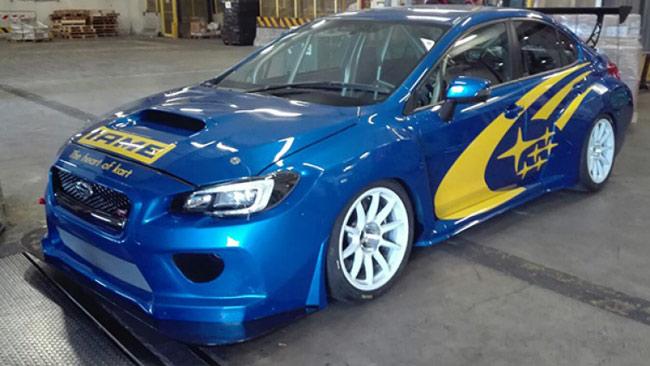 Spettacolare livrea per la Subaru WRX STI di Rangoni!
