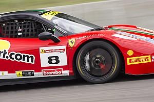 Ferrari Race report Weather impacts Ferrari Challenge action at Mont-Tremblant