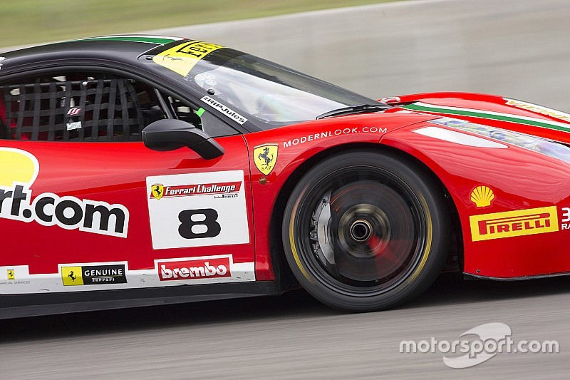 Weather impacts Ferrari Challenge action at Mont-Tremblant