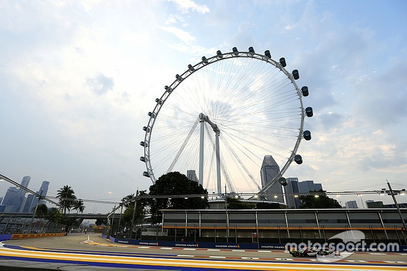 Haze situation worsens ahead of Singapore GP