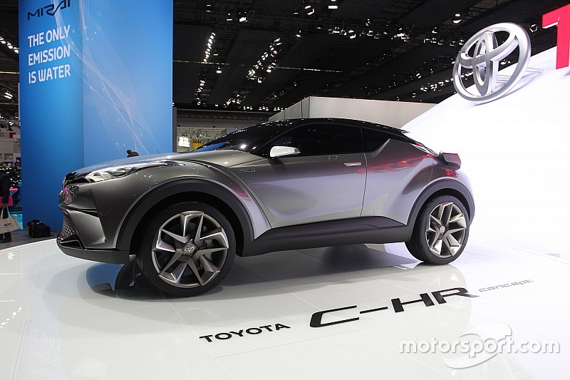 Le Toyota C-HR, bien plus qu'un concept