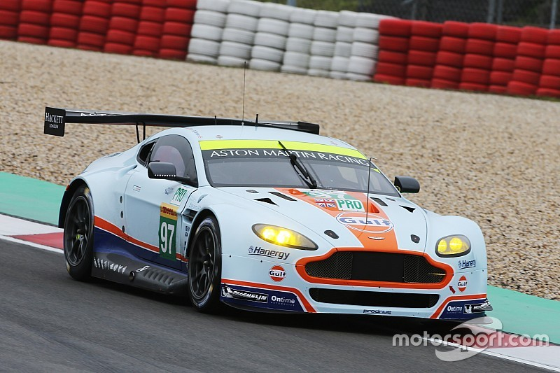 Aston Martin welcomes up-coming talent to WEC