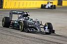 Rosberg fue el más veloz en la primera práctica de Singapur