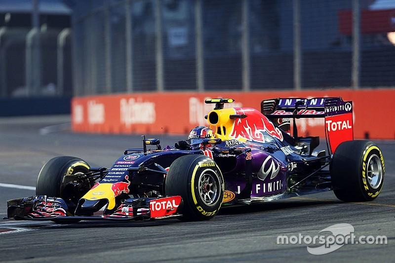 Singapore, Libere 2: Kvyat precede la Ferrari!