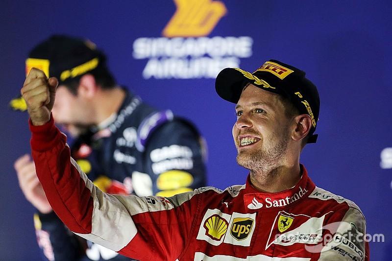 "Vettel destaca dia ""perfeito"" e espera bater Mercedes de novo"