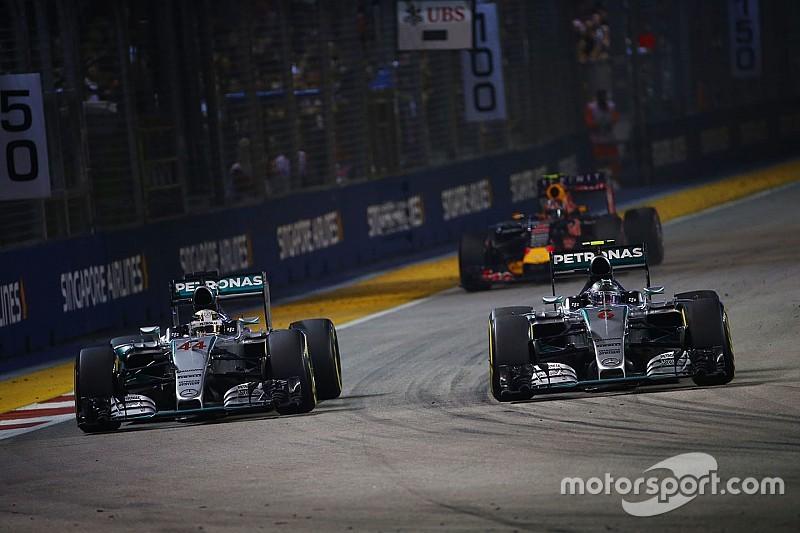 В Mercedes не исключают возможность применения командой тактики