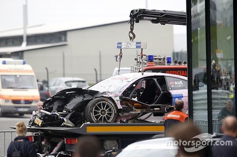 Technischer Defekt als Ursache für Crash von Lucas Auer in Oschersleben