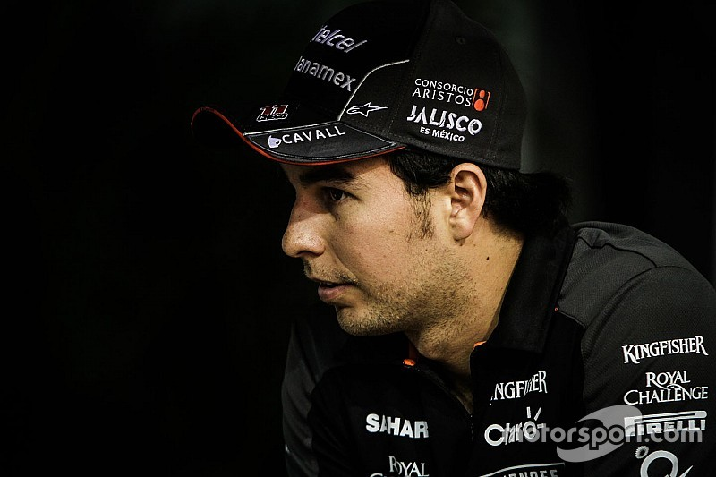 Sergio Pérez es confirmado con Force India para 2016