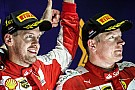 Raikkonen ready to support Vettel in F1 title battle