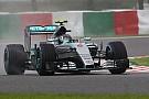 Mercedes manda en condiciones de seco