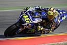 Une journée plus compliquée pour Valentino Rossi