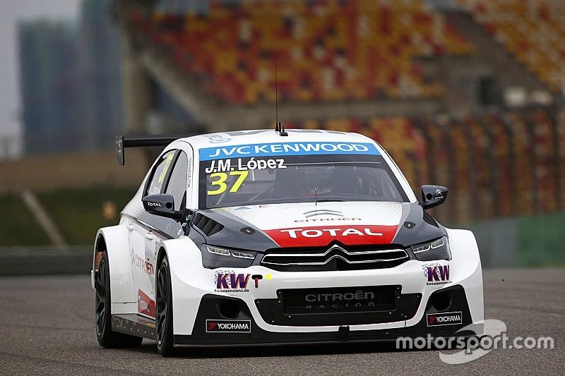 Course 1 - Lopez imperturbable, Citroën champion !
