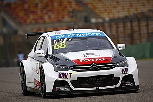 WTCC Race report Shanghai WTCC: Muller takes fifth win as Lopez moves closer to the title