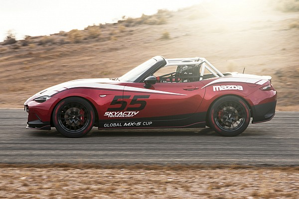Road racing Mazda prices new 2016 Global MX-5 Miata race car at $53,000