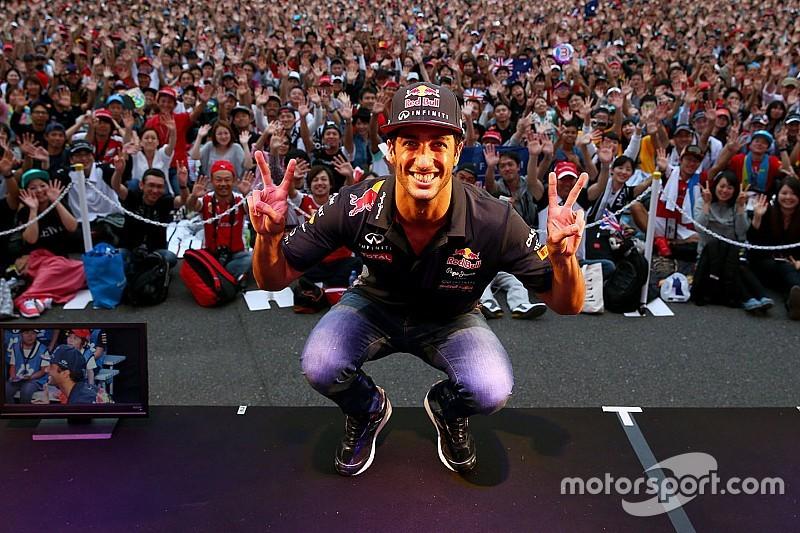 Ricciardo tem fé de que Red Bull correrá em 2016