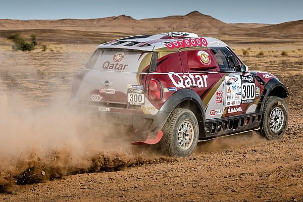 Sainz tiene problemas y Al-Attiyah es el nuevo líder en Marruecos