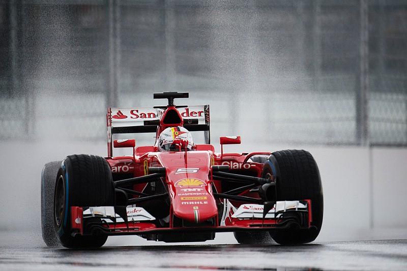 An eventful and wet start for Ferrari at Sochi