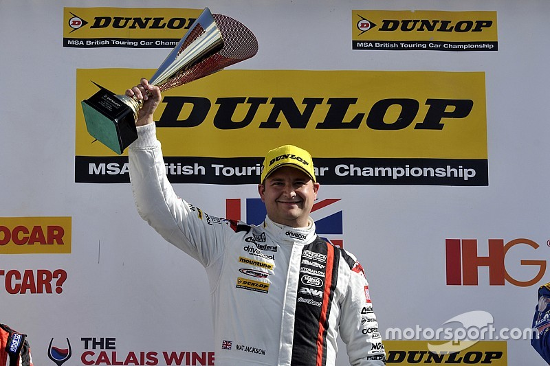Brands Hatch BTCC: Jackson wins as Plato closes on Shedden