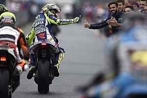 MotoGP Actualités Valentino Rossi ne veut pas faire de calculs pour le Championnat