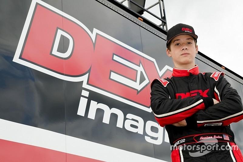 Harrison, hijo de Jeff Burton, debutará en NASCAR a los 15 años