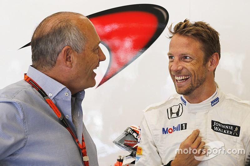 Button n'a pas peur d'arrêter la F1 mais veut terminer le travail