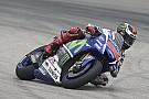 Lorenzo fue el más veloz antes de la calificación en Malasia