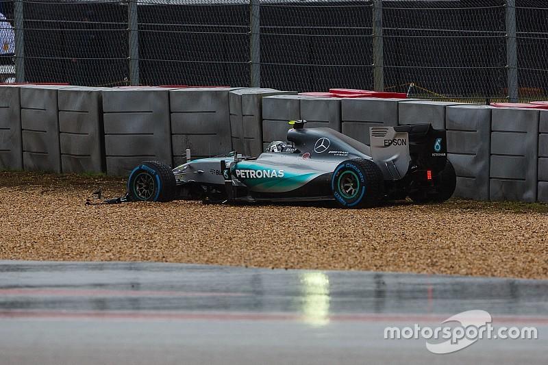 """Para Rosberg, posponer la calificación """"era la única opción"""""""