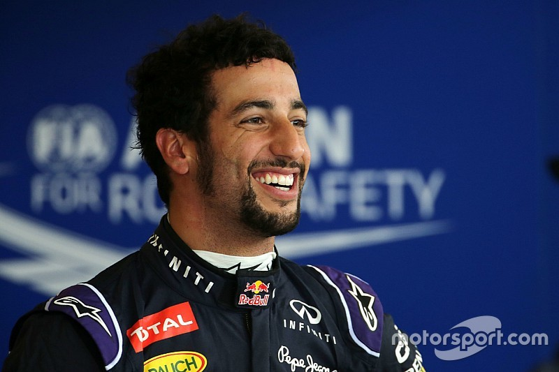 """Ricciardo: """"La pioggia nostra alleata, darò tutto"""""""