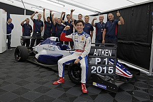 Formula Renault Breaking news Eurocup champion Aitken considering F3.5, GP3 for 2016
