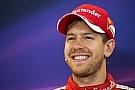 """Sebastian Vettel: """"Das Ziel ist, Nico Rosberg zu schlagen"""""""