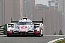 Audi on second row at Shanghai