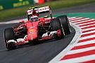 Raikkonen usa il sesto motore Ferrari stagionale
