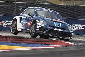 Global Rallycross Rennbericht Ehemaliger Formel-1-Fahrer Scott Speed gewinnt Global Rallycross