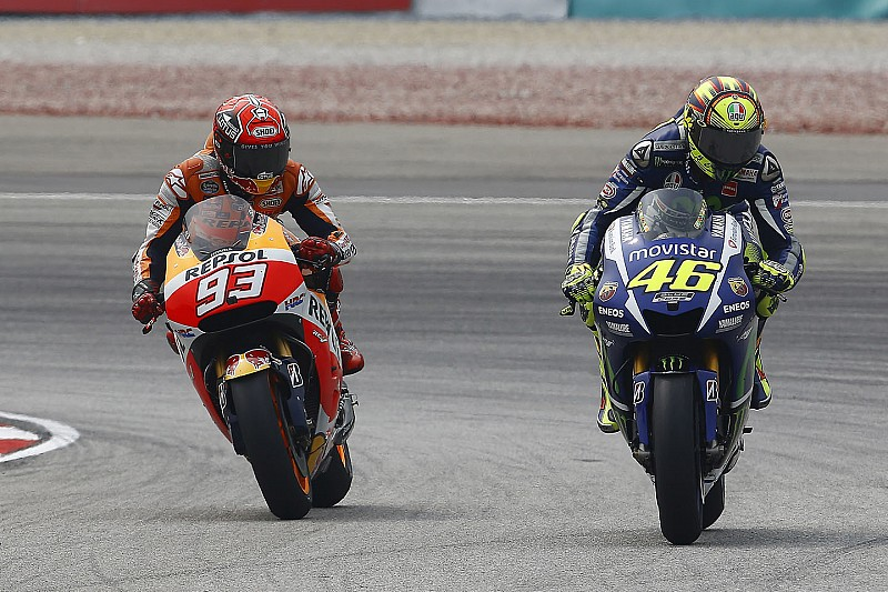 """Rossi: """"I don't know where it will end"""" with Marquez"""