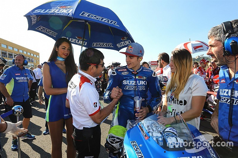 """Viñales: """"La Suzuki si è adattata subito alle Michelin"""""""