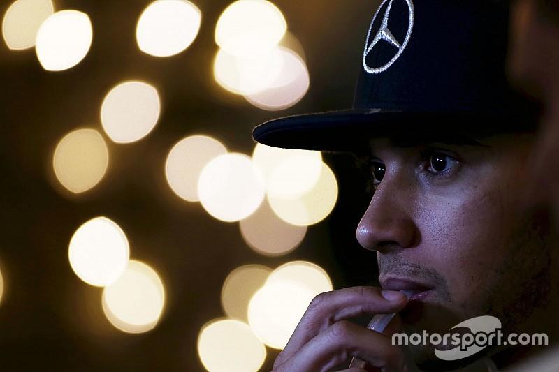 Hamilton suffered Monaco car crash