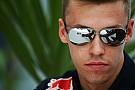 Daniil Kvyat niet bang voor opkomende Verstappen en Sainz