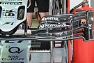 Force India: l'ala anteriore con cinque soffiaggi
