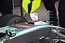 Mercedes retire son S-Duct pour la suite du week-end au Brésil