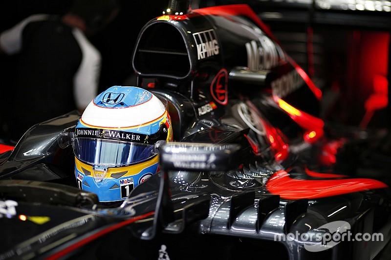 Alonso, con buenas conclusiones del nuevo motor