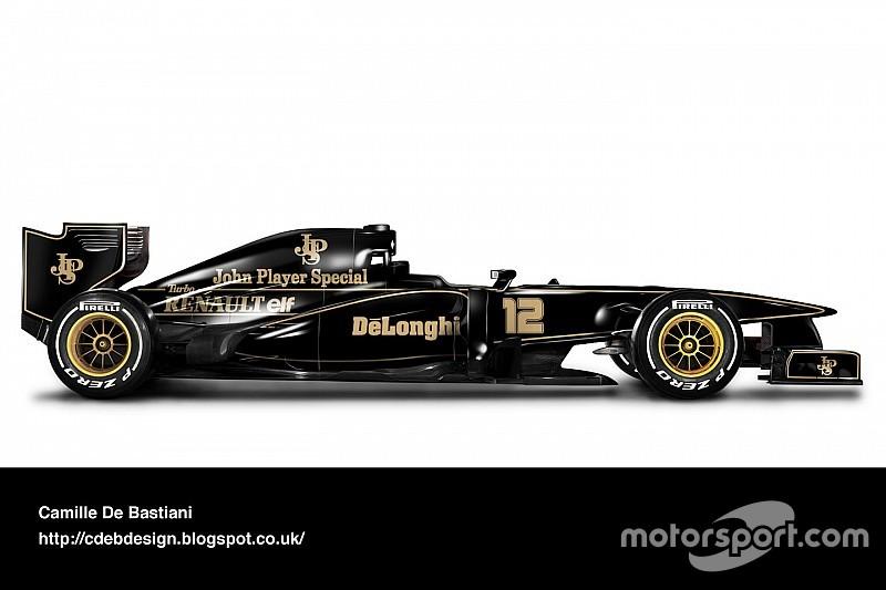 Galería - Los autos retro de F1 montados en los autos actuales