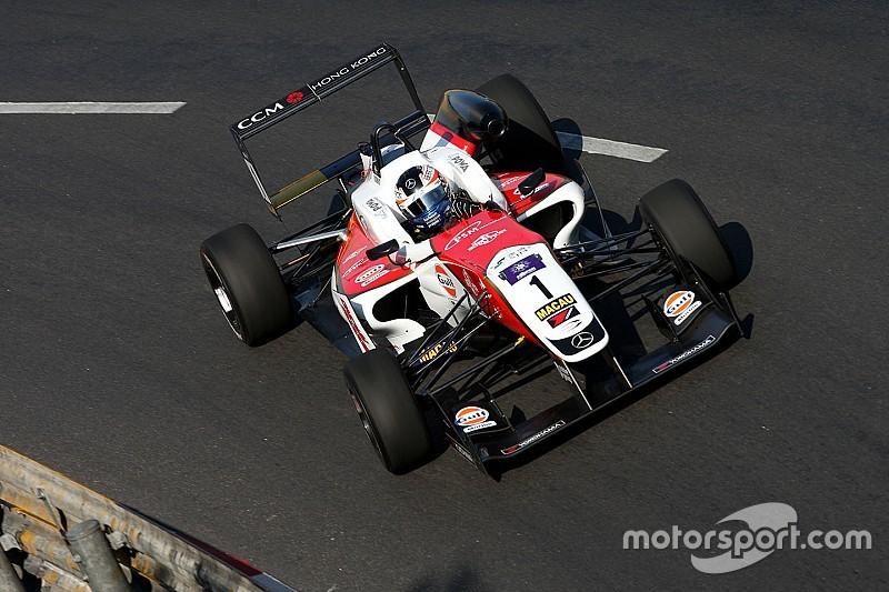 Rosenqvist en pole position pour la course qualificative