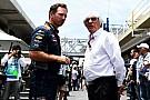 Экклстоун обвинил Mercedes в расколе союза Red Bull и Renault