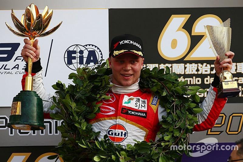 Rosenqvist imponeert met tweede zege en ronderecord in Macau