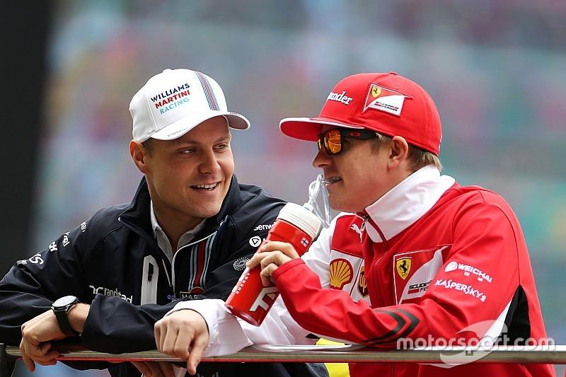 Para Bottas, vencer a Raikkonen es importante