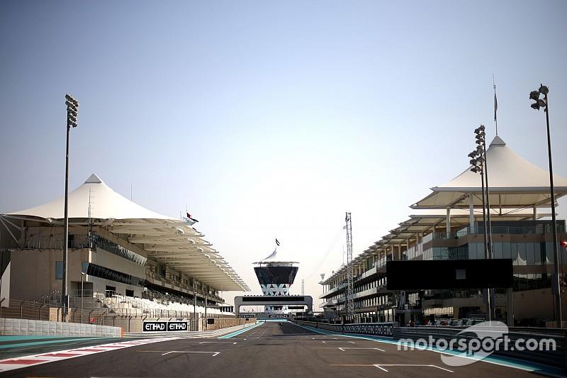 Full Abu Dhabi Pirelli F1 test line-up revealed