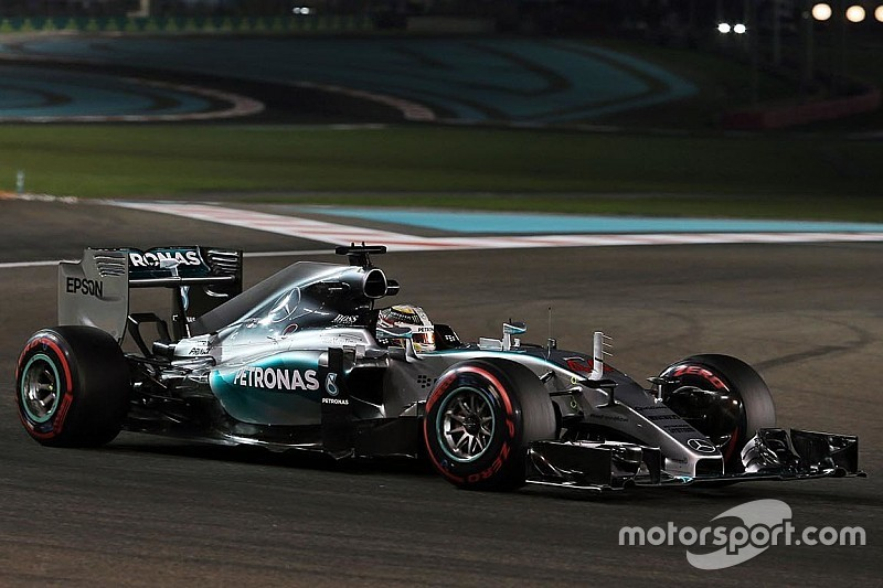 """Hamilton intentó algo """"completamente diferente"""" en Abu Dhabi"""